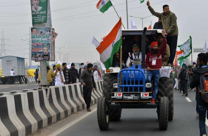 किसानों को ट्रैक्टर परेड निकालने की दिल्ली पुलिस से मिली हरी झंडी, 2 लाख से ज्यादा ट्रैक्टर तैयार