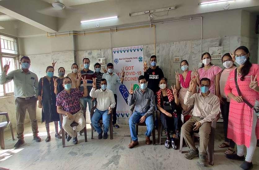 सूरत जिले में टीकाकरण महाअभियान ने पकड़ी रफ्तार