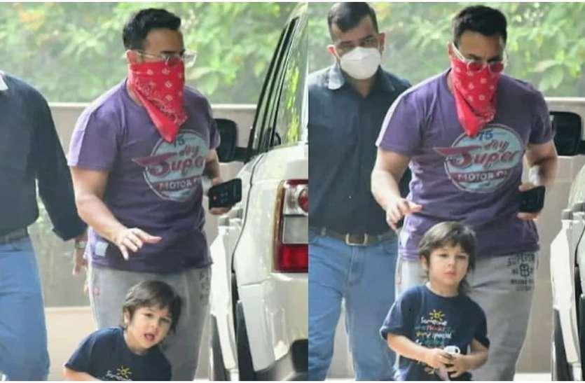 फोटोज क्लिक करने पर पैपराजी पर भड़के Saif Ali Khan, गार्ड से बाहर निकालने की कही बात