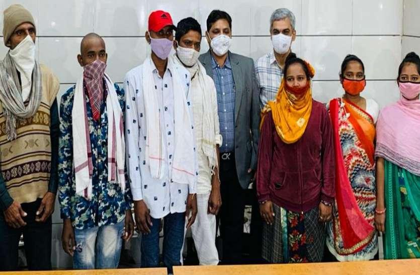 Ahmedabad : बेटियों ने दी ब्रेन डेड मां के अंगदान की सहमति