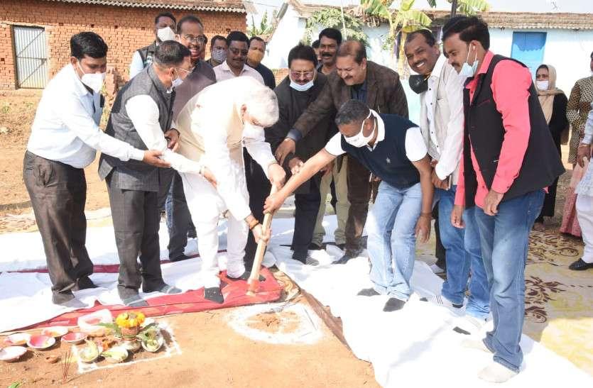 मंत्री टीएस सिंहदेव ने टंकी निर्माण कार्य का किया भूमिपूजन, बोले- इससे शहर के ६ हजार लोगों को होगी पानी की सप्लाई