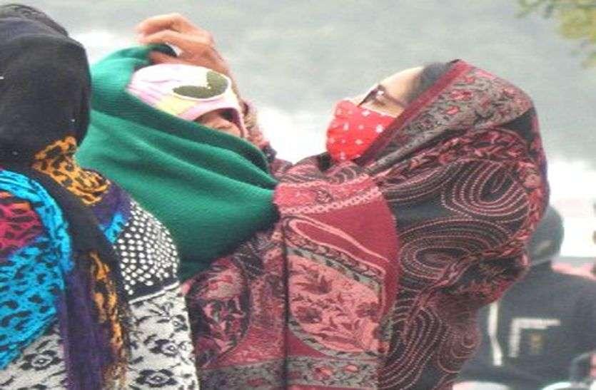 राजस्थान में शीतलहर की चेतावनी, नमी बढ़ी, गिरा तापमान