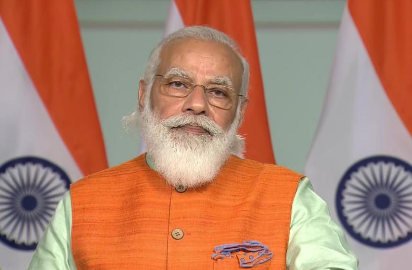 PM Modi ने की बाल पुरस्कार विजेताओं से बात, कहा - कम उम्र में आपके काम हैरान करने वाले