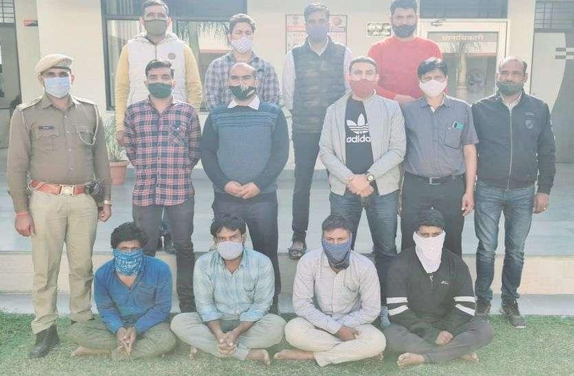 ट्रक चालक व खलासी का अपहरण कर 30 लाख रुपए की मांगी फिरौती, पुलिस ने दबोचे तीनों आरोपित