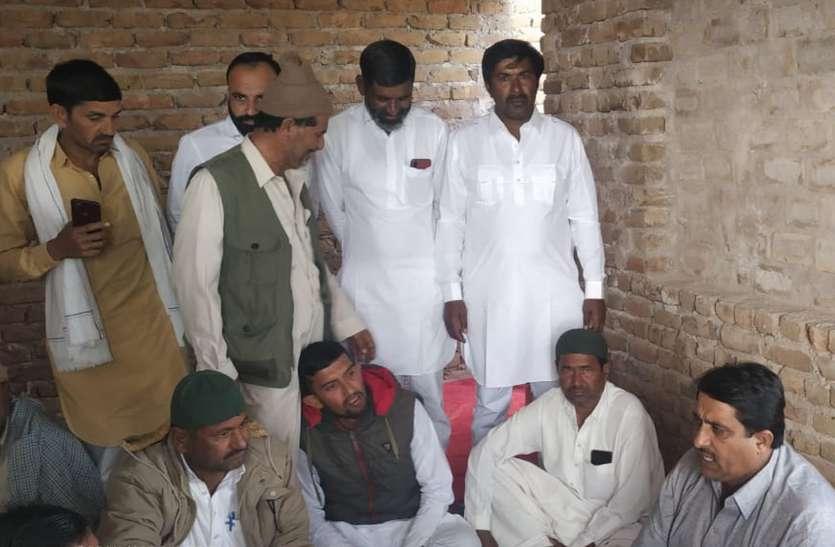 अल्पसंख्यक मामलात मंत्री ने किया गांवों का दौरा