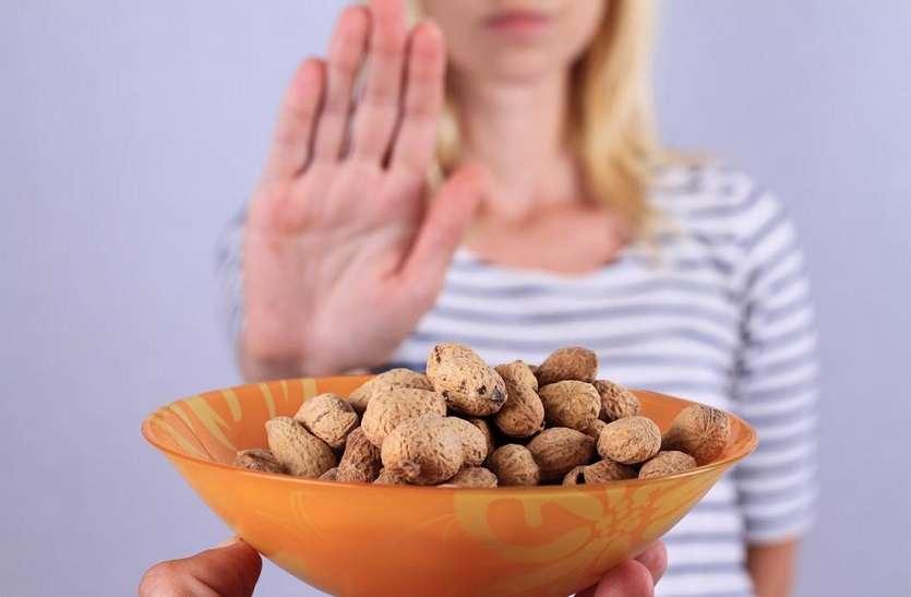मूंगफली की एलर्जी बच्चों में अधिक, गंभीर होने पर लो-बीपी व बेहोशी भी