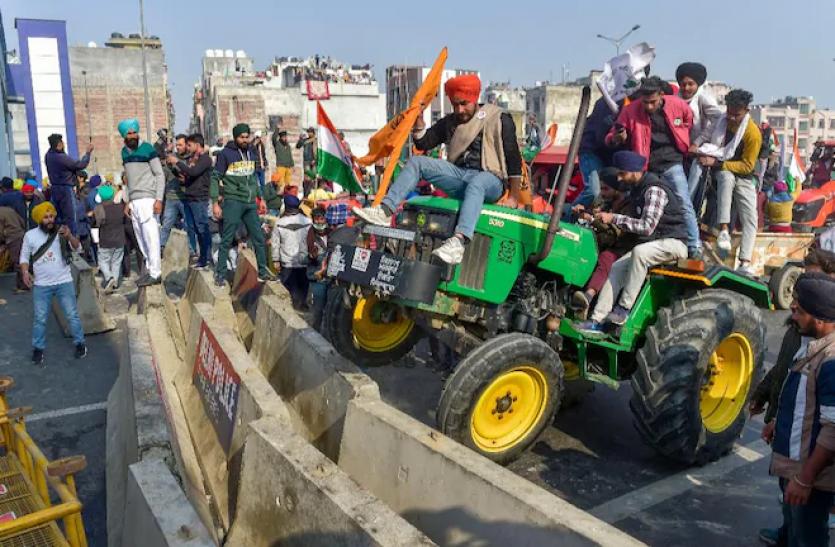 सिंधु बॉर्डर के किसानों का दावा - दीप सिद्धू और लक्खा सिधाना ने हिंसा के लिए उकसाया