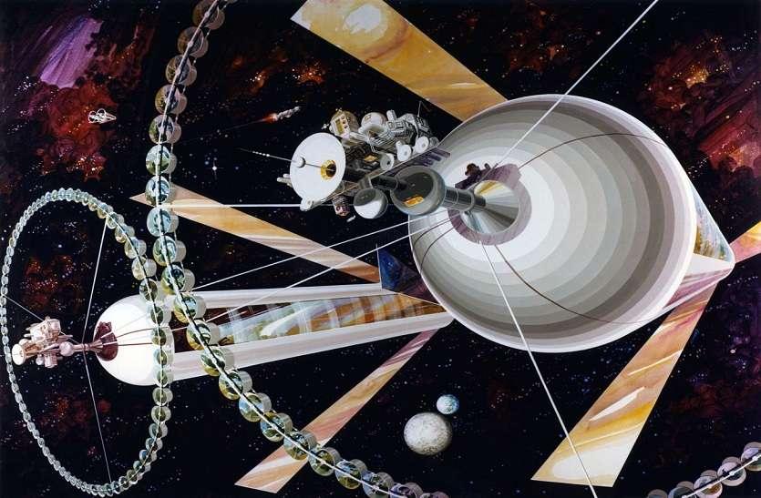 Asteroid Belt Colony : पृथ्वी से दूर क्षुद्रग्रह सेरेस पर घूमती हुई बेल्ट कॉलोनी में रहेंगे इंसान !