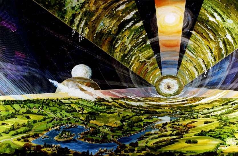 Asteroid Belt Colony : क्षुद्रग्रह सेरेस पर घूमती हुई बेल्ट कॉलोनी में रहेंगे इंसान