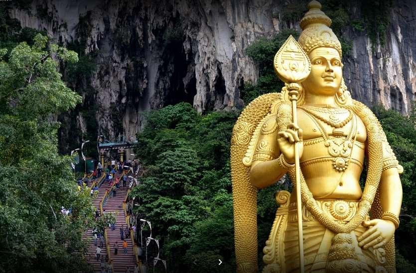 बातू गुफा मंदिर Kuala Lumpur, Malaysia