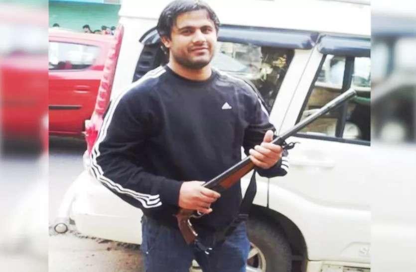 मोस्ट वांटेड अपराधी पपला गुर्जर गिरफ्तार, बहरोड़ थाने पर हमला करवा हुआ था फरार