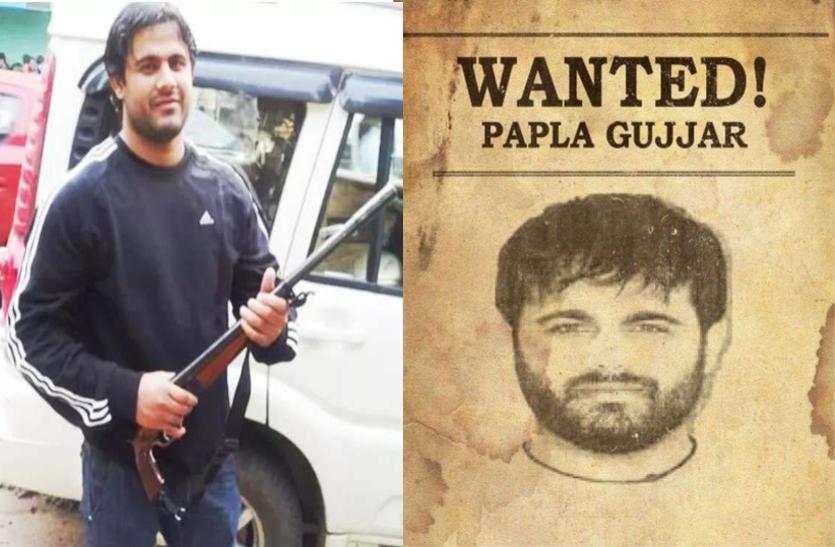 Papla Gurjar को महाराष्ट्र के कोल्हापुर से गिरफ्तार किया, महिला मित्र के साथ रह रहा था, पढ़िए ऑपरेशन की पूरी खबर