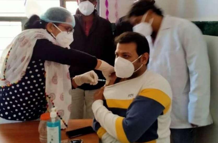 प्राथमिक स्वास्थ्य केन्द्रों पर भी शुरू किया कोरोना वैक्सीनेशन