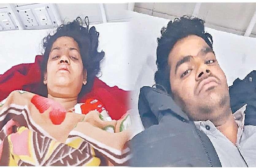 टोंक दुखांतिकाः घायल विनोद और सरिता की आंखों में अब भी ट्रोले दहशत