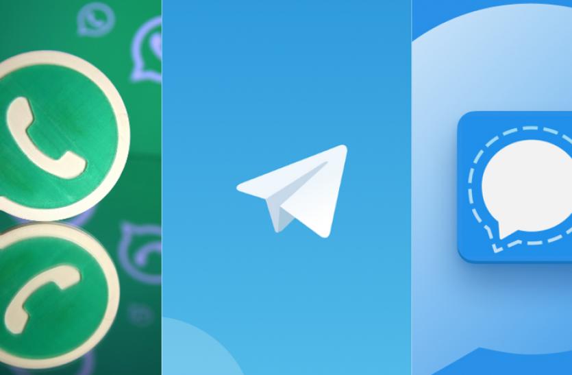 सिर्फ सेटिंग्स में बदलाव कर आप व्हाट्सएप, सिग्नल और टेलीग्राम जैसे एप को बना सकते हैं सुरक्षित