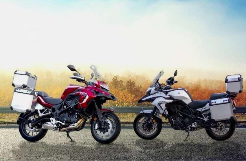 केवल 10 हजार में बुक कराएं भारत में लॉन्च नई 2021 Benelli TRK 502 एडवेंचर टूरर बाइक