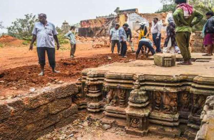 लिंगराज मंदिर के पास हुई खुदाई में मिली वो अनमोल चीज, देख लोग हो गए हैरान!