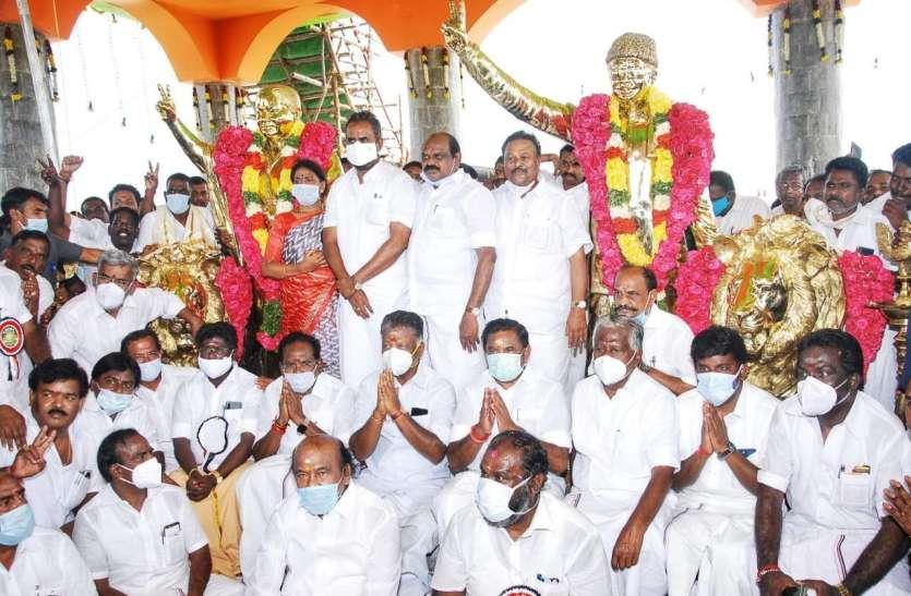 Madurai जिले के टी. कुणातूर में MGR-Jayalalithaa का मंदिर खुला