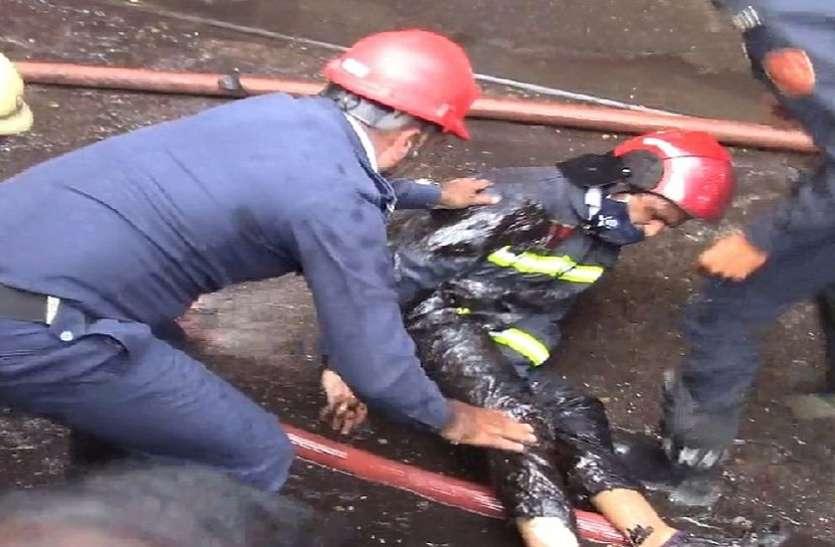 सूरत मेंडाइंग मिल में आग 36 को बचाया, 5 हताहत