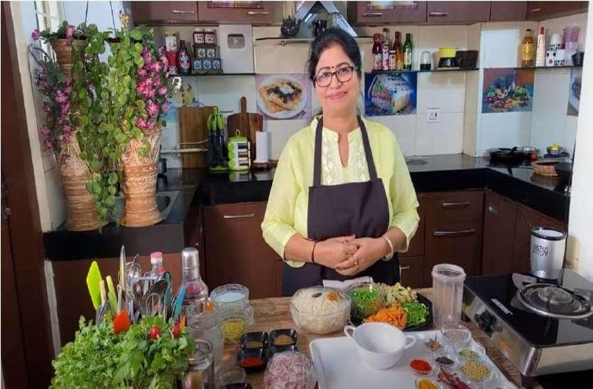 ग्वालियर की पूनम की रेसिपी के दीवाने दुनिया भर में, हजारों लोगों को बना चुकीं किचन मास्टर