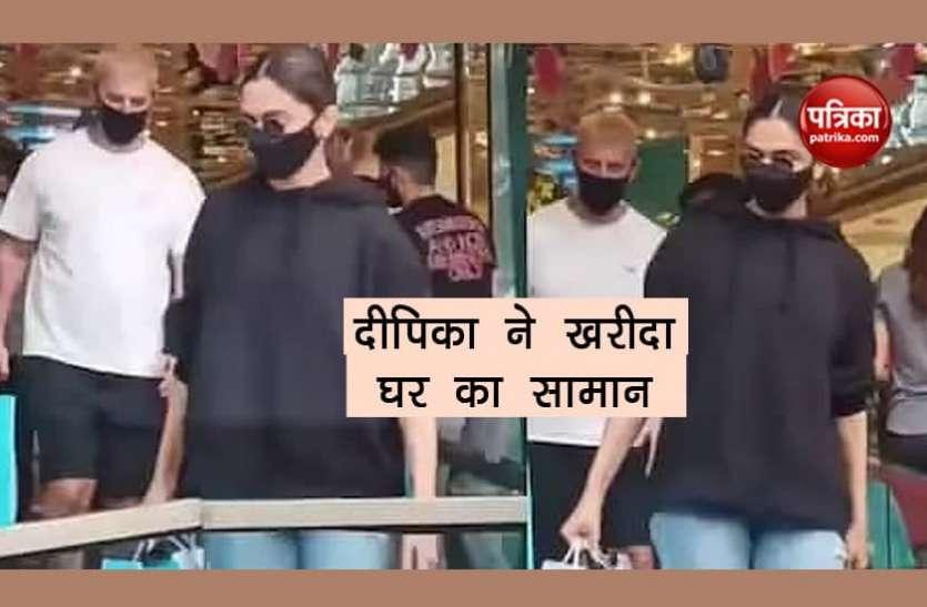 Deepika Padukone निकलीं ग्रॉसरी शॉपिंग के लिए, साथ में नहीं नज़र आए पति रणवीर सिंह