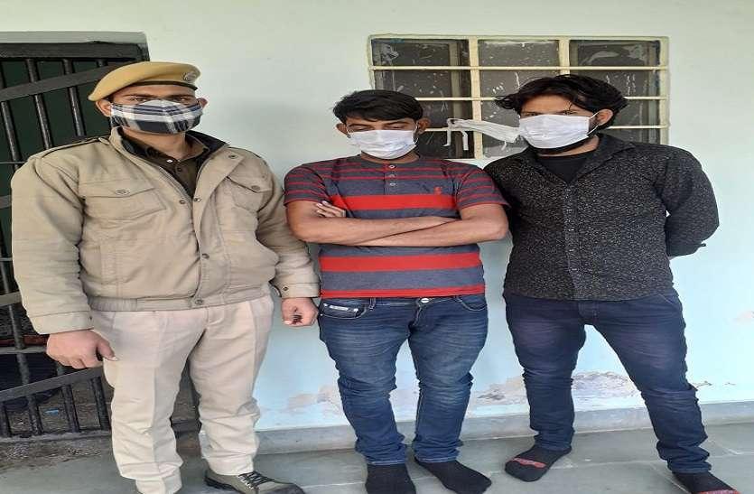 डम्पर चुराने वाले बदमाशों को दबोचा