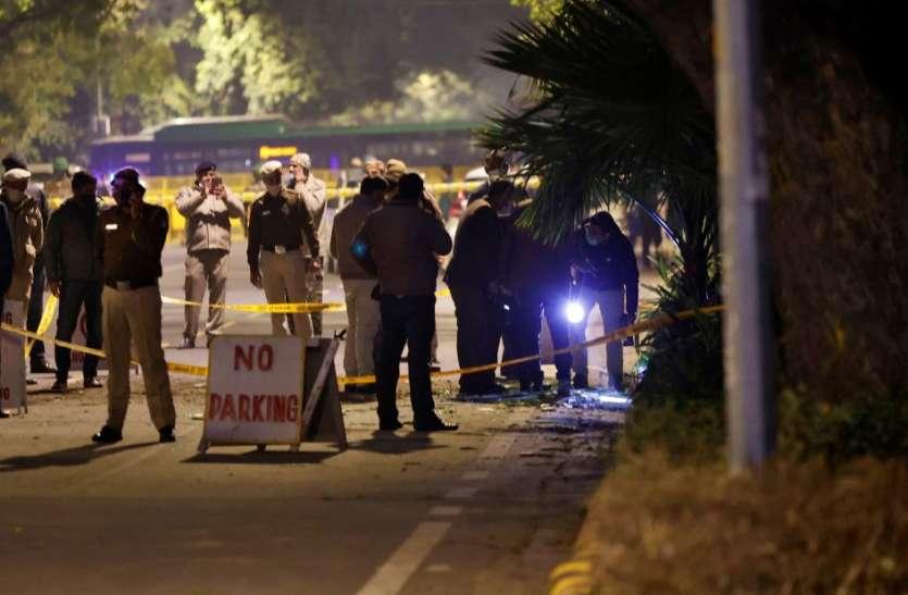 Israel Embassy Blast: मौके से मिला एंबेसी का पता लिखा लिफाफा, CCTV से भी सुराग खंगाल रही जांच एजेंसी