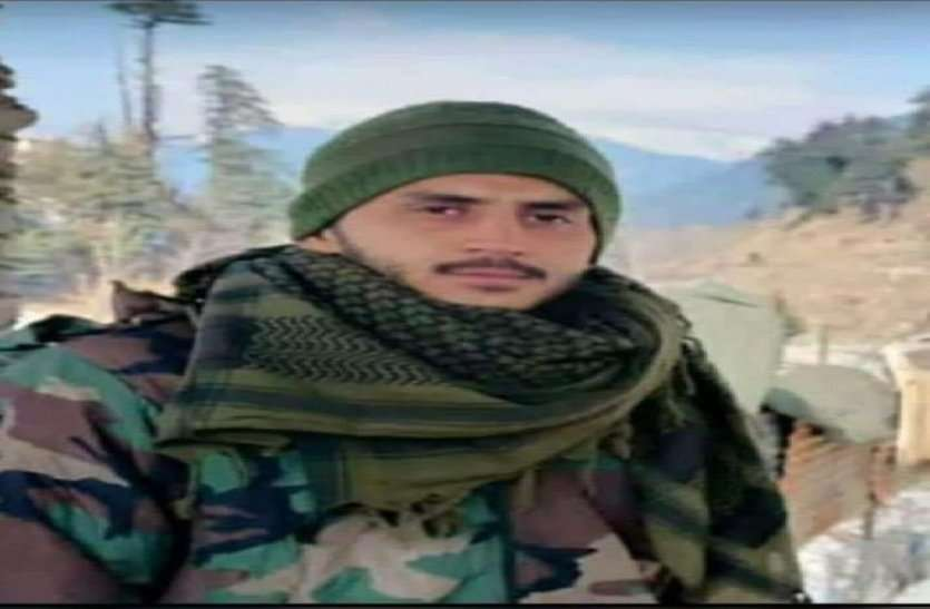 दुश्मन से मुठभेड़ में अलवर का लाल शहीद, 19 साल के निखिल ने देश सेवा में दी शहादत, आज पहुंचेगा पार्थिव देह