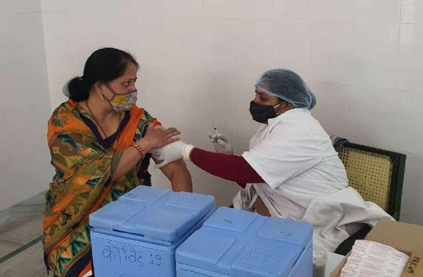 101 केंद्रों पर 3751 स्वास्थ्य कर्मियों को लगा कोविड का टीका
