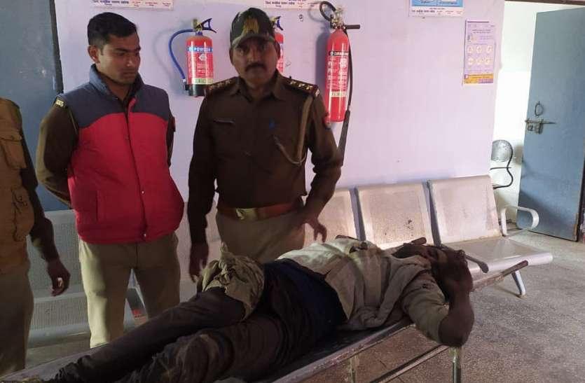 गोप्पा गिरोह का सक्रिय सदस्य मुठभेड़ में गिरफ्तार