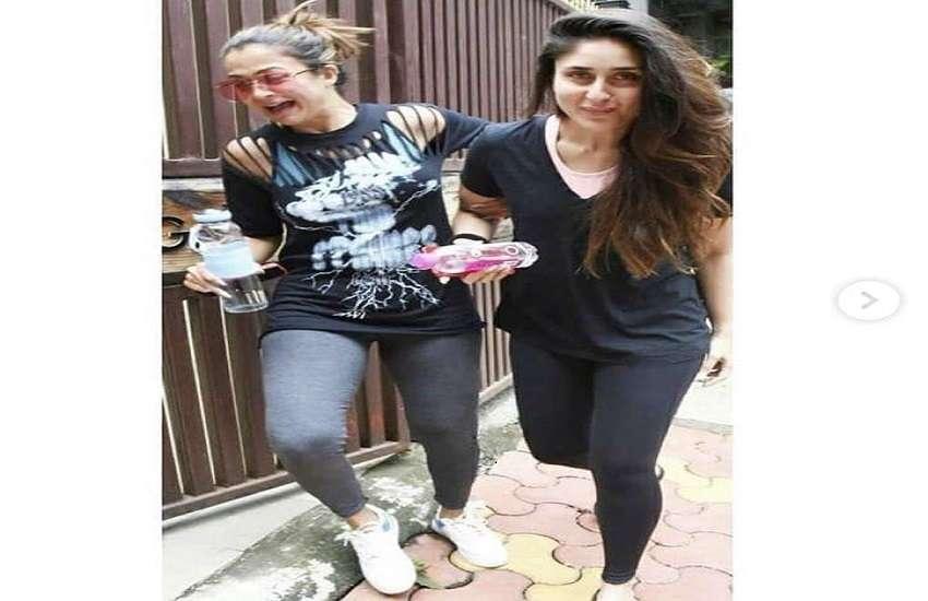 Kareena Kapoor and Amrita Arora