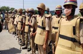 छात्रों के दो गुटों में विवाद के बाद हाथापाई, पुलिस बल तैनात