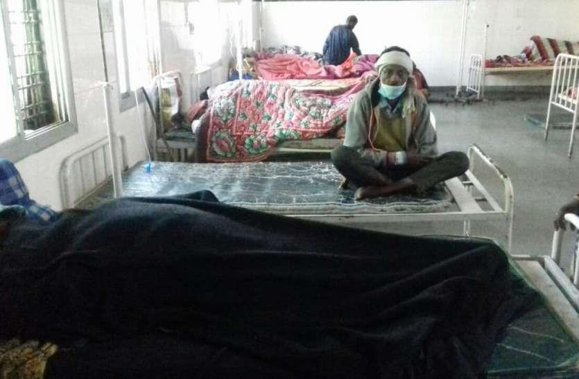 जिला अस्पताल में मरीजों को नहीं मिल रही सुविधाएं