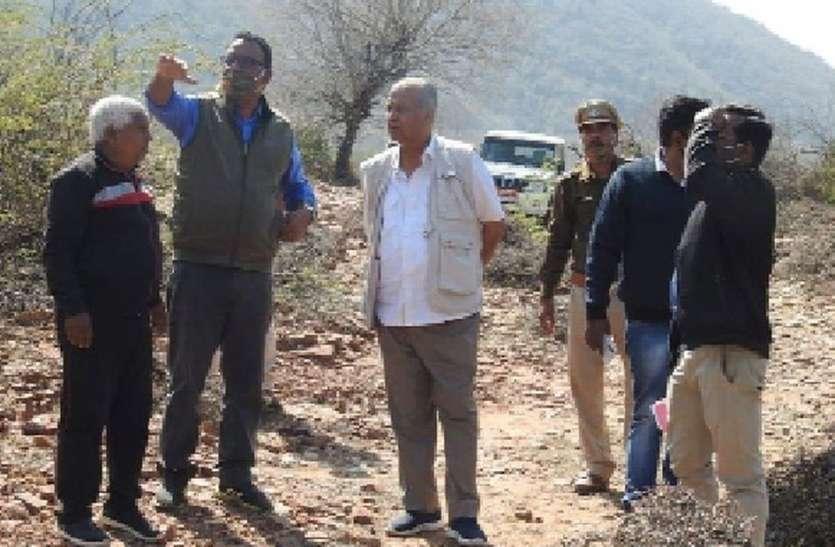विधायक सहित अधिकारियों ने देखा बूंदी का रामगढ़