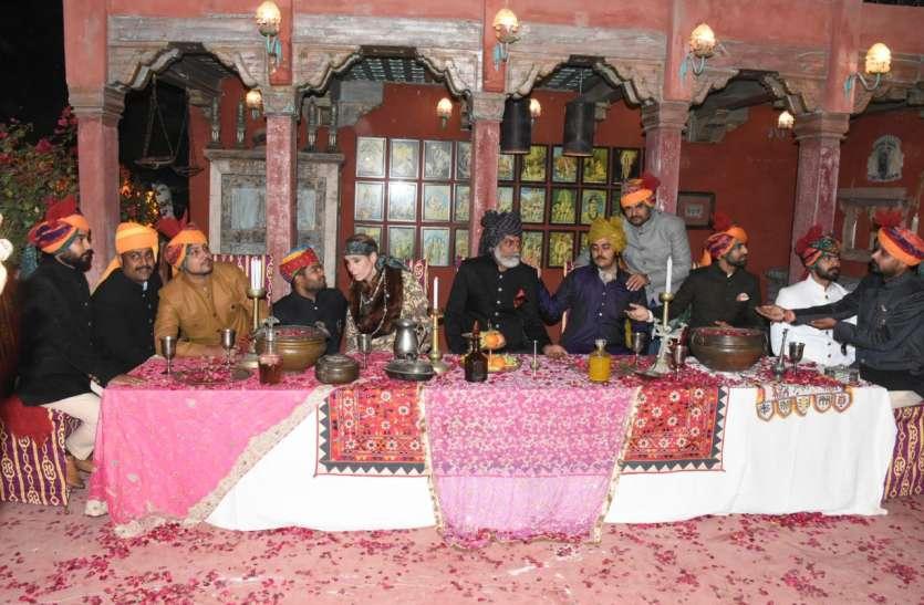 विदेशी महिला वर्षों से राजस्थानी चित्रकारी, परंपरा, खान-पान रीत रिवाज पर कर रही काम
