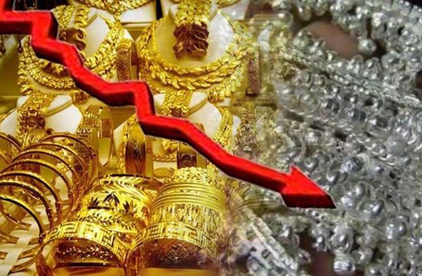 सोना-चांदी खरीदने का सुनहरा मौका, लगातार गिर रहे भाव, जानिये अब कितनी आई गिरावट