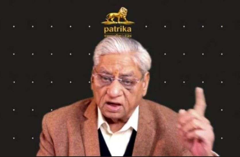 पाठकों के दम पर सरकारों से लड़ी जनता के हक की लड़ाई: डॉ. कोठारी