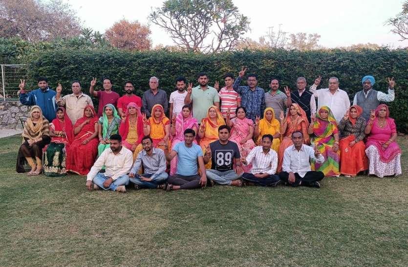 नागौर सभापति चुनाव : ममता व मीतू में सीधी टक्कर, बोथरा के साथ दिखे 32 पार्षद