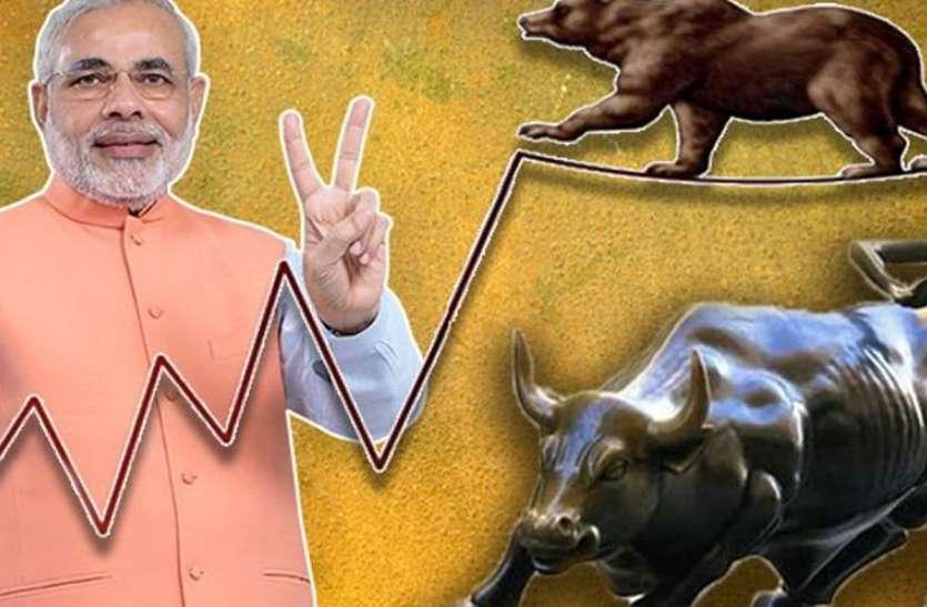 मोदी सरकार में बाजार निवेशकों की बल्ले-बल्ले, 2300 से भी कम दिनों में निवेशकों ने कमाए 115 लाख करोड़ रुपए
