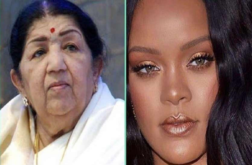 Lata Mangeshkar Rihanna