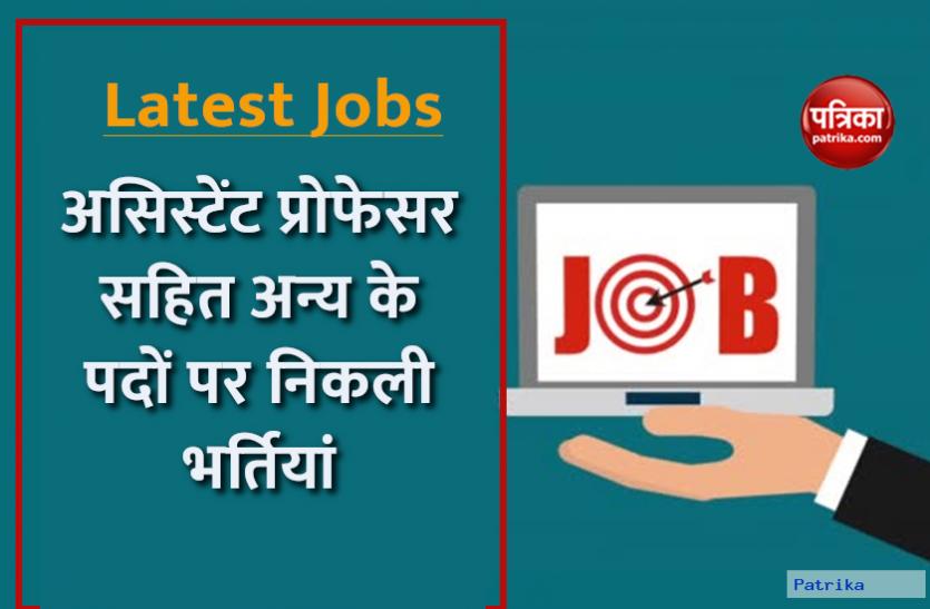 Latest Jobs: एम्स गोरखपुर में असिस्टेंट प्रोफेसर सहित अन्य के पदों पर निकली भर्तियां, जानिए पूरी डिटेल्स