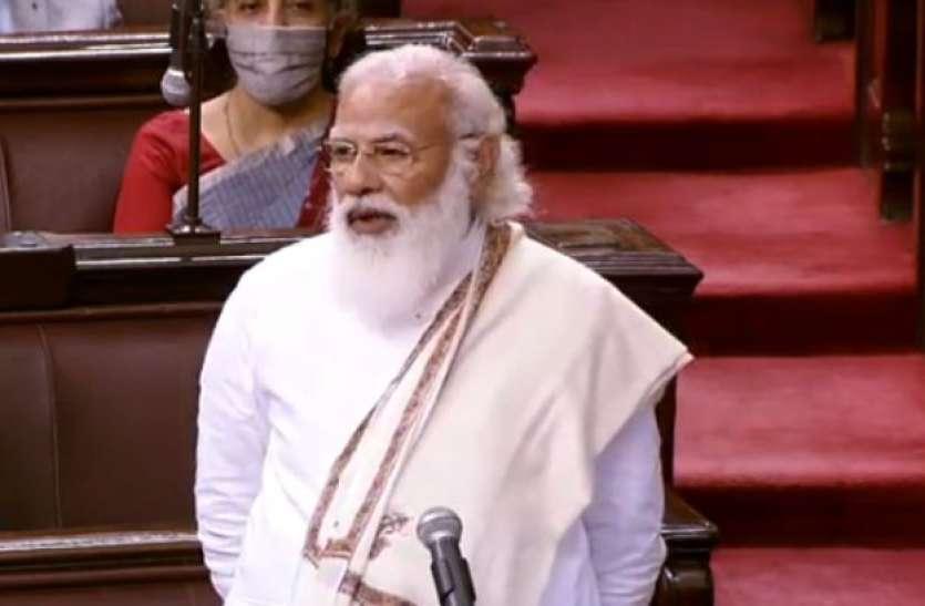 PM Modi बोले- देश में 'आंदोलनजीवी' के रूप में आई नई जमात, FDI का बताया नया फुलफॉर्म
