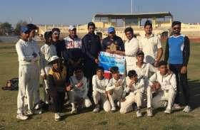 रोमांचक मुकाबले में अलीगढ़ ने शिवपुरी इलेवन को 4 रन से हराया