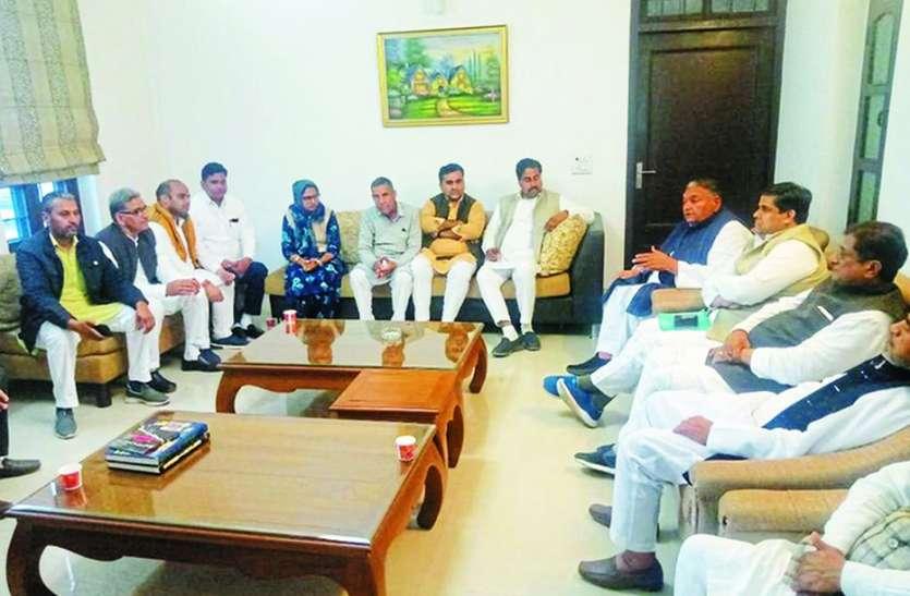 राहुल गांधी के दौरे को लेकर तैयारियां, प्रभारी ने लिया व्यवस्थाओं का जायजा