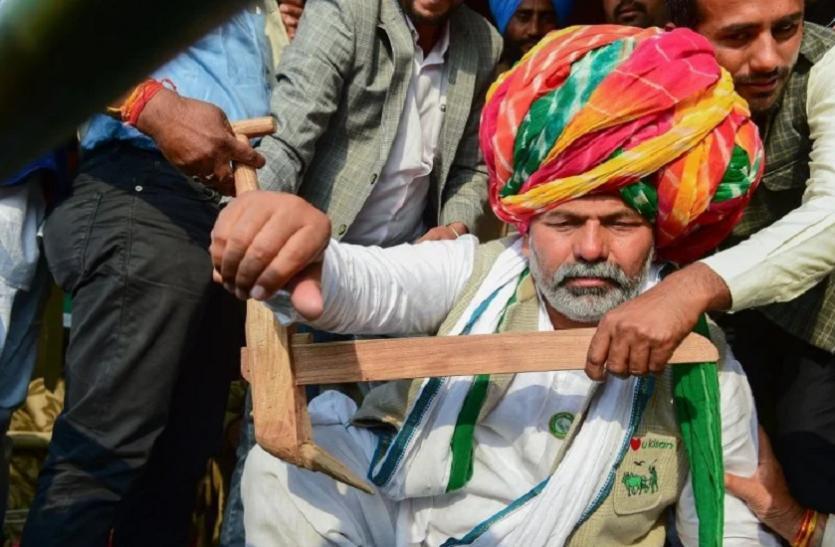हरियाणा: राकेश टिकैत बोले- 4 लाख नहीं अब 40 लाख ट्रैक्टरों की रैली देखेगी सरकार