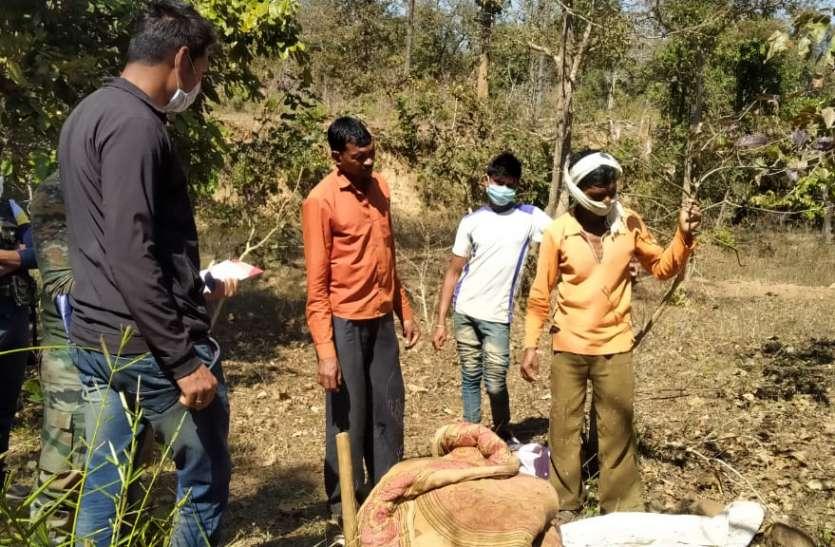 २८ जनवरी से लापता व्यक्ति का जमीन में दफना हुआ बरामद किया गया शव