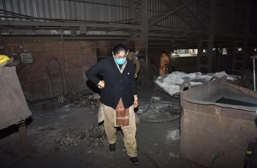 सरिया फैक्ट्री की भट्टी में विस्फोट से एक की मौत