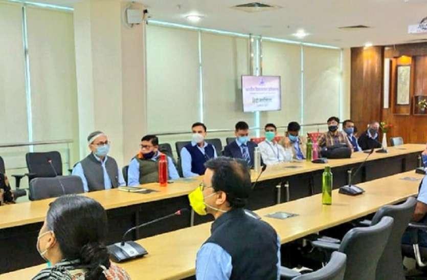 हवाई अड्डे पर आयोजित एक दिवसीय हिंदी कार्यशाला