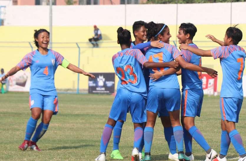 भारतीय महिला फुटबॉल टीम सर्बिया, रूस और यूक्रेन के खिलाफ खेलेगी मुकाबले