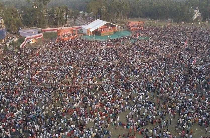 राज्य को सोनार बांग्ला बनाने की है यह लड़ाई : अमित शाह